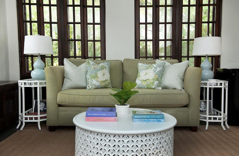 Designer Ashley Colombo styled this living space