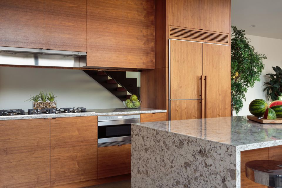 Modern residential kitchen.