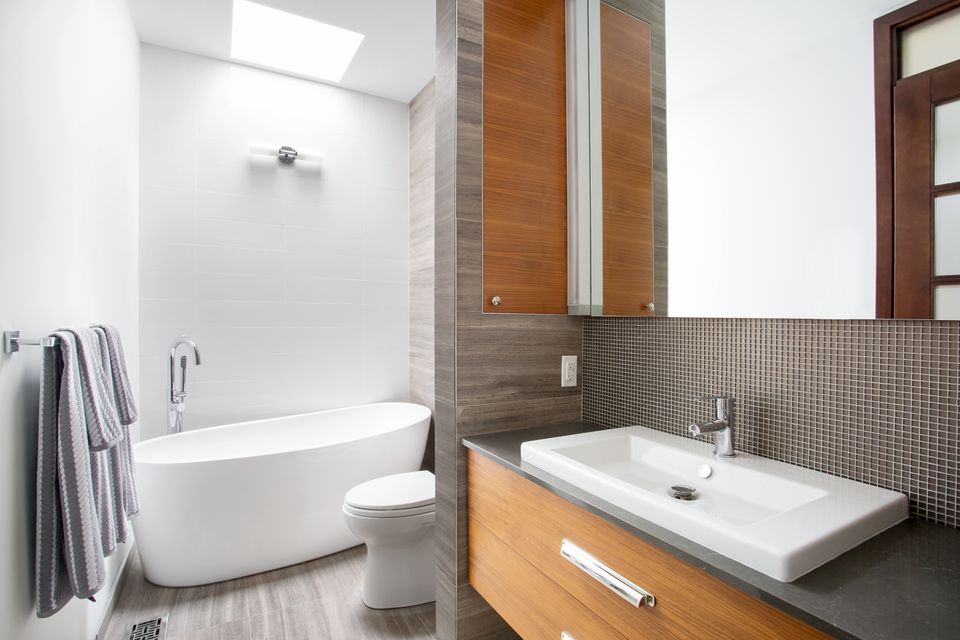 Modern Contemporary style bathroom
