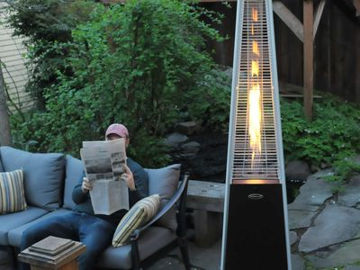 AZ Patio Heaters Tall Quartz Glass Tube Heater