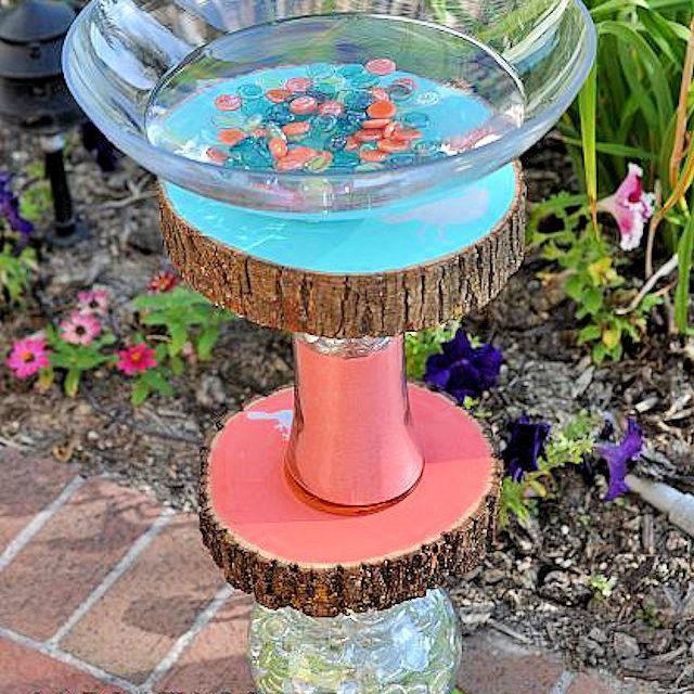 10 Easy Diy Bird Bath Projects