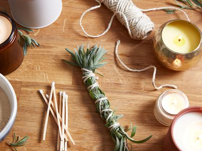 items for smudging a household