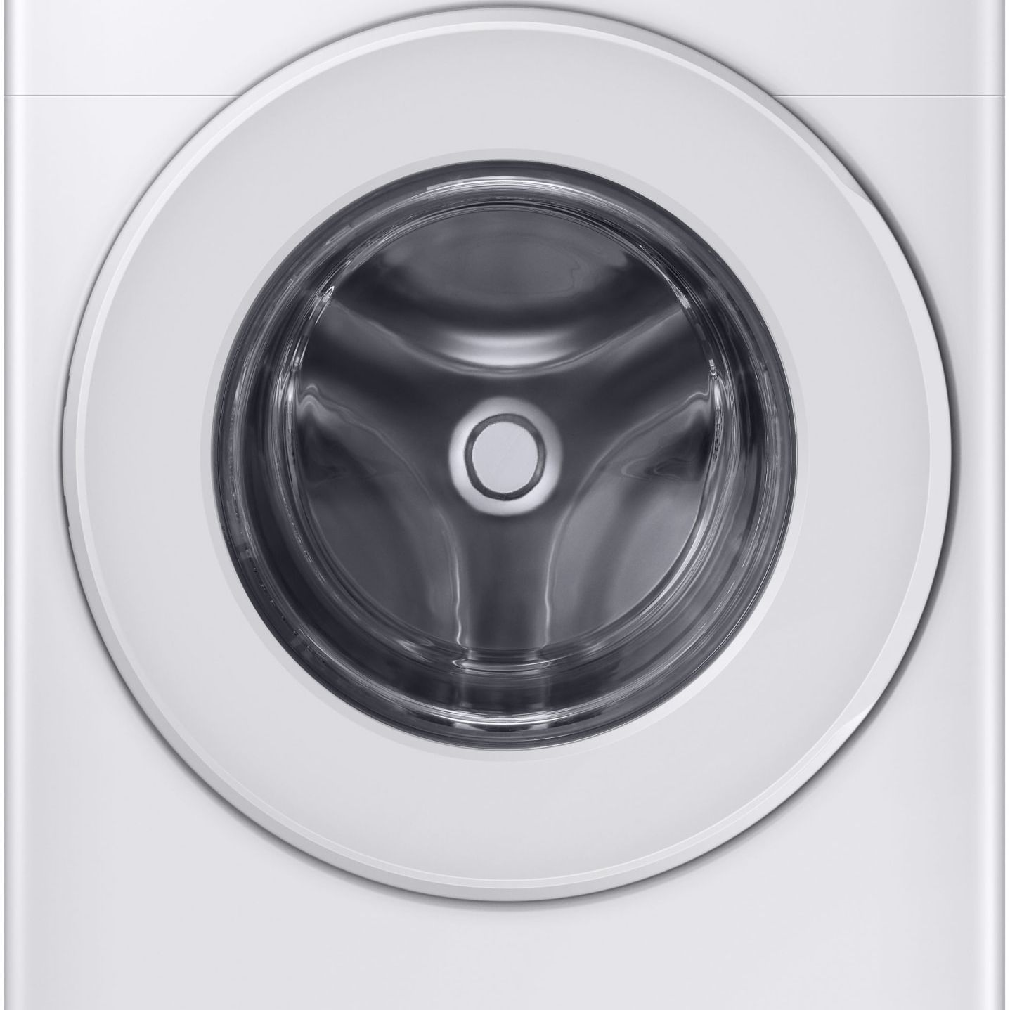 A Samsung washing machine from AJ Madison is front-loading.