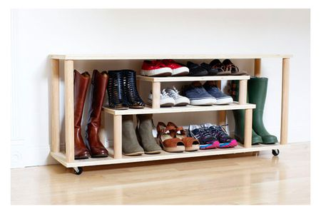 Diy Boot And Shoe Storage