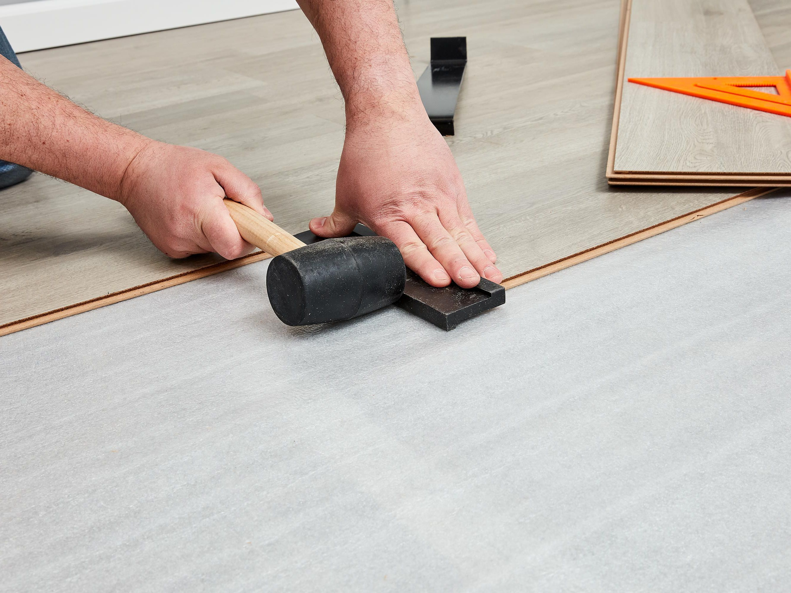 Best Underlayment For Laminate Flooring, Can You Put Laminate Flooring On Concrete Slab
