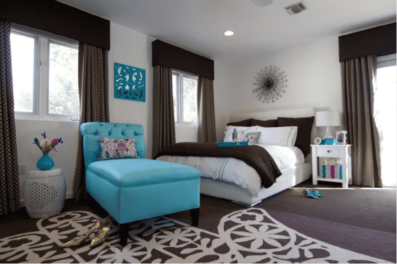 Blue Bedroom Decorating Tips And Photos