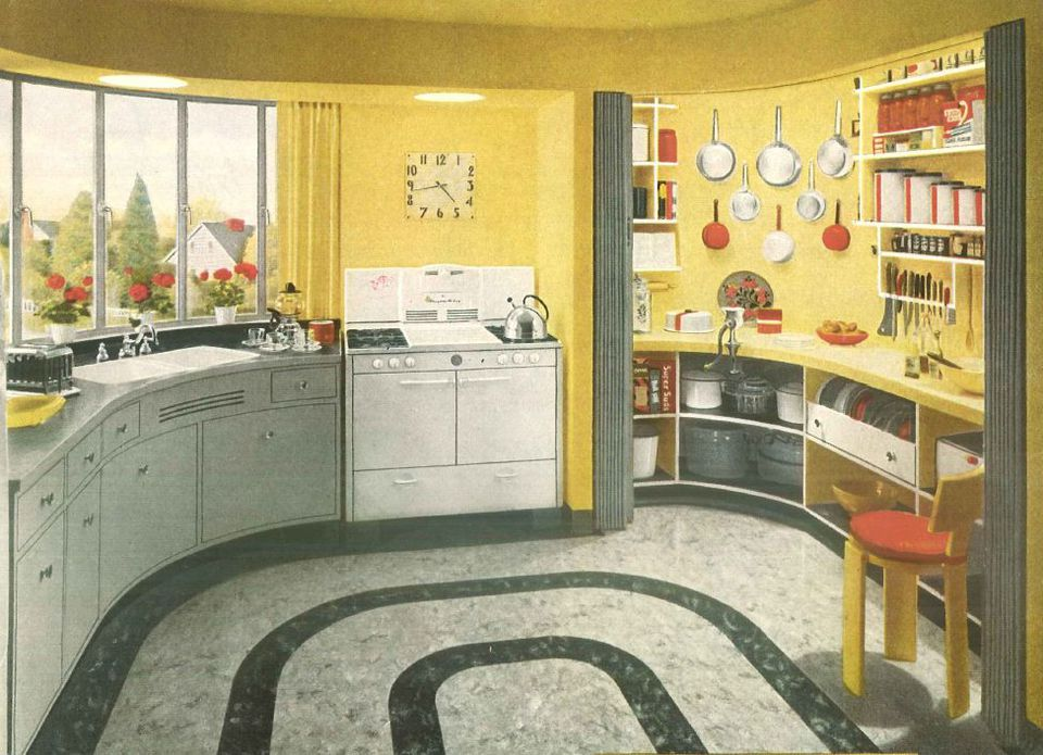 1940s kitchen design