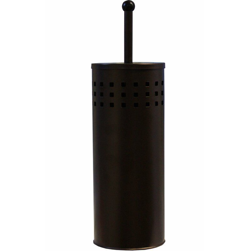 Free-Standing Toilet Plunger with Holder