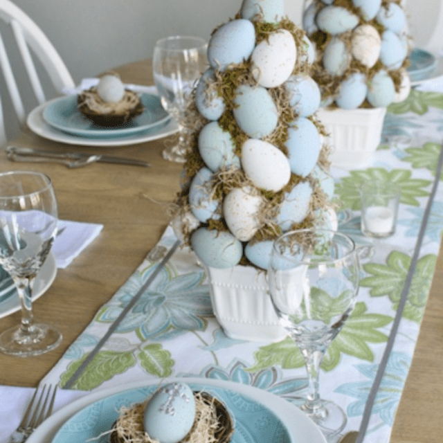 Easter Topiary Trees