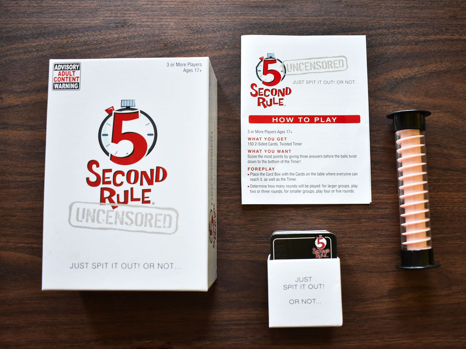 5 Second Rule Uncensored Review A Fun And Fast Paced Party Game