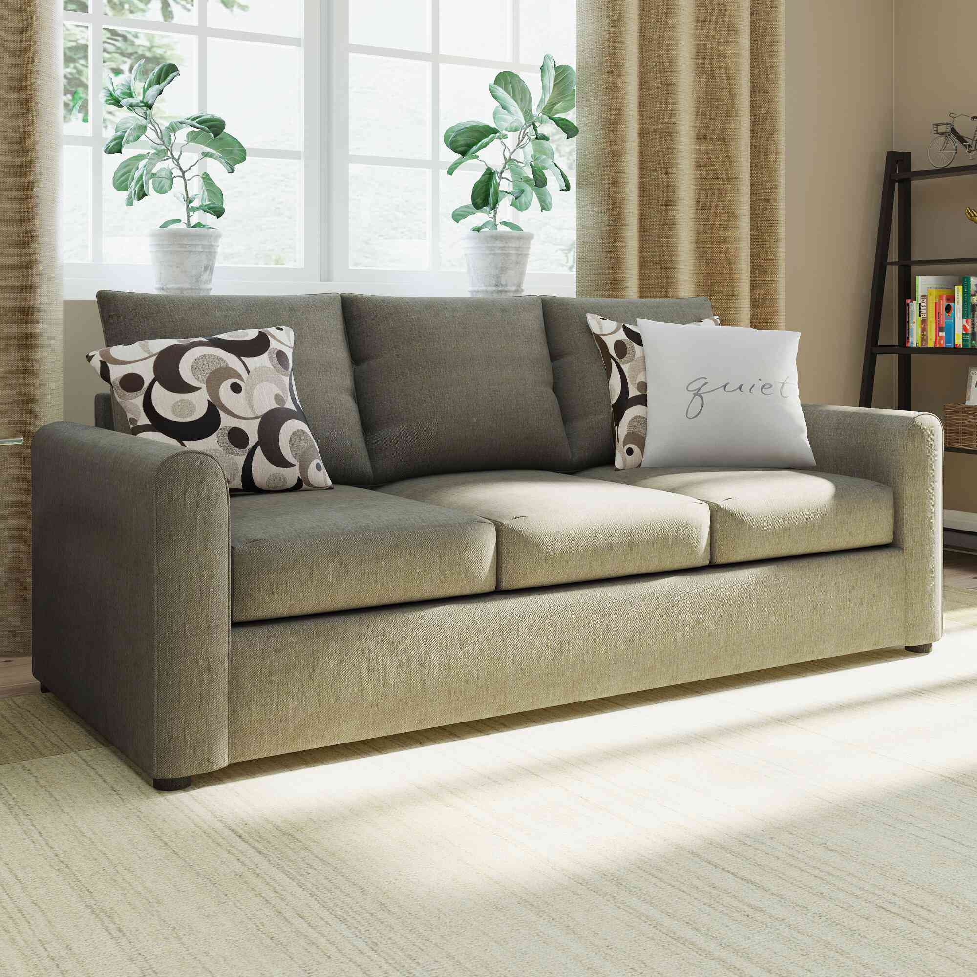 Andover Mills Murillo Square Arm Sofa Bed