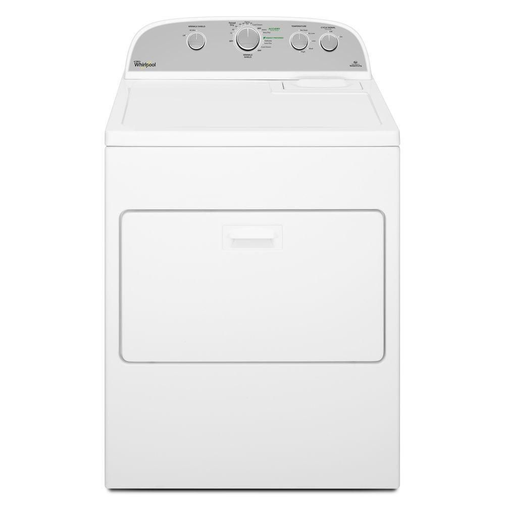 White Whirlpool Gas Dryer