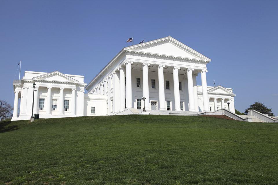 Virginia State Capitol in Richmond, Virginia