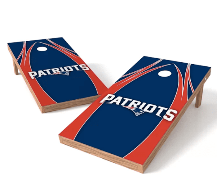 2' x 4' NFL Solid Wood Cornhole Board