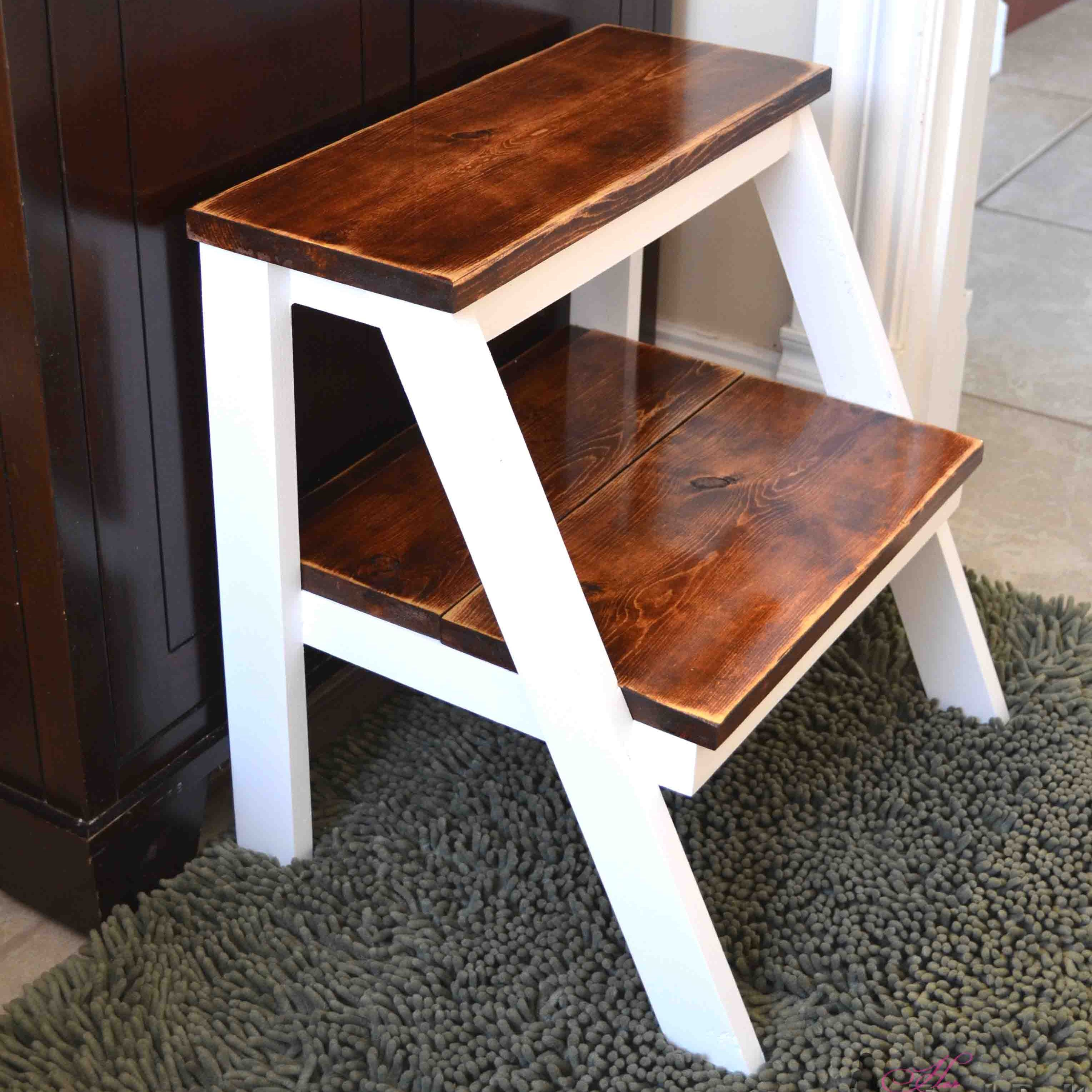 Fabulous 10 Free Plans For A Diy Step Stool Beatyapartments Chair Design Images Beatyapartmentscom