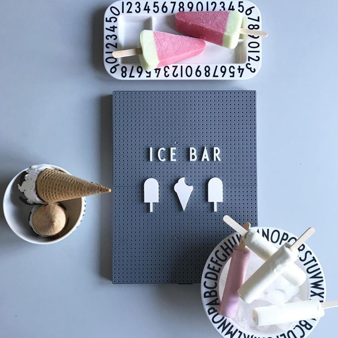 tablero de clavijas de barra de hielo