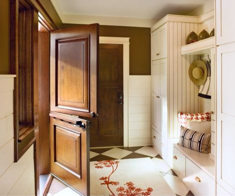 Dutch Doors Create A Homey Cottage Feeling