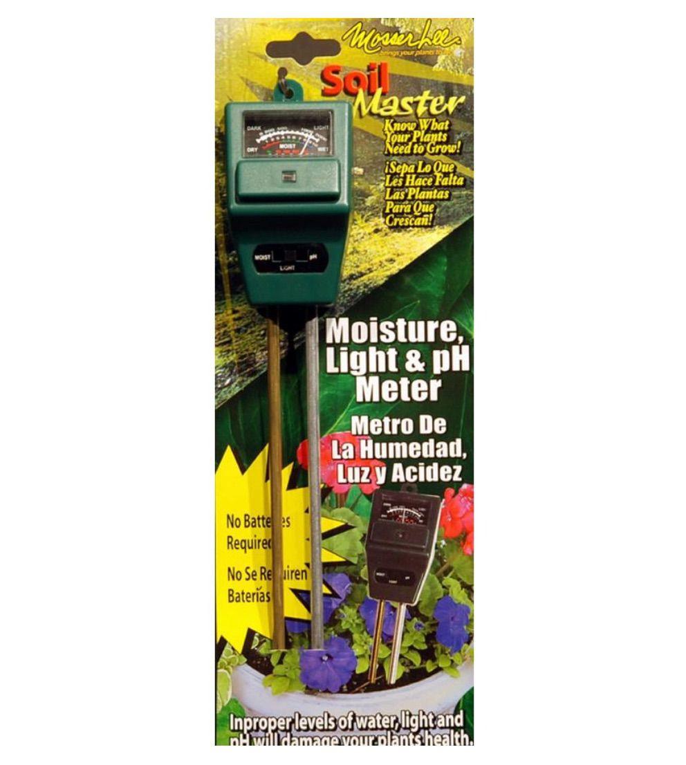 Soil Master ML1240 Light, pH and Moisture Meter