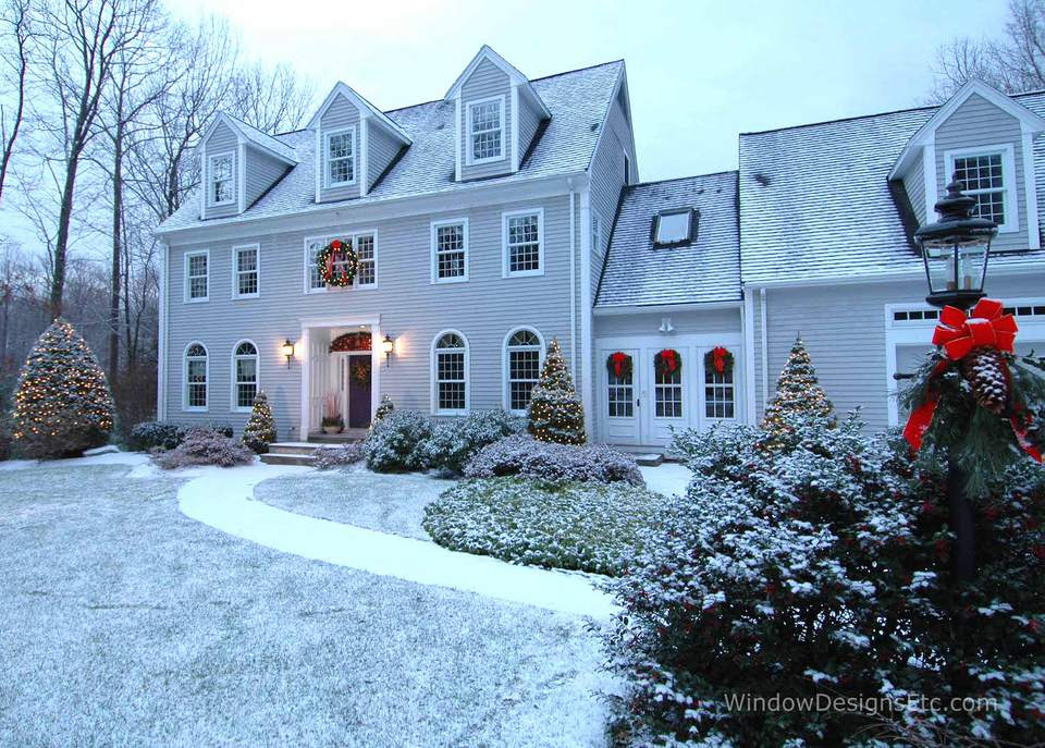 Holiday exterior home