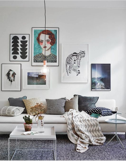 19 Great Design Ideas for Gallery Walls