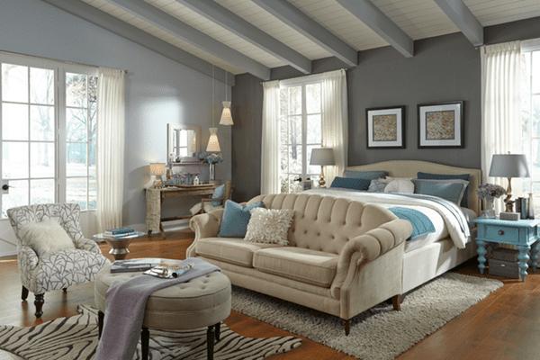 Beautiful Gray Bedroom Ideas | Clark+Kensington