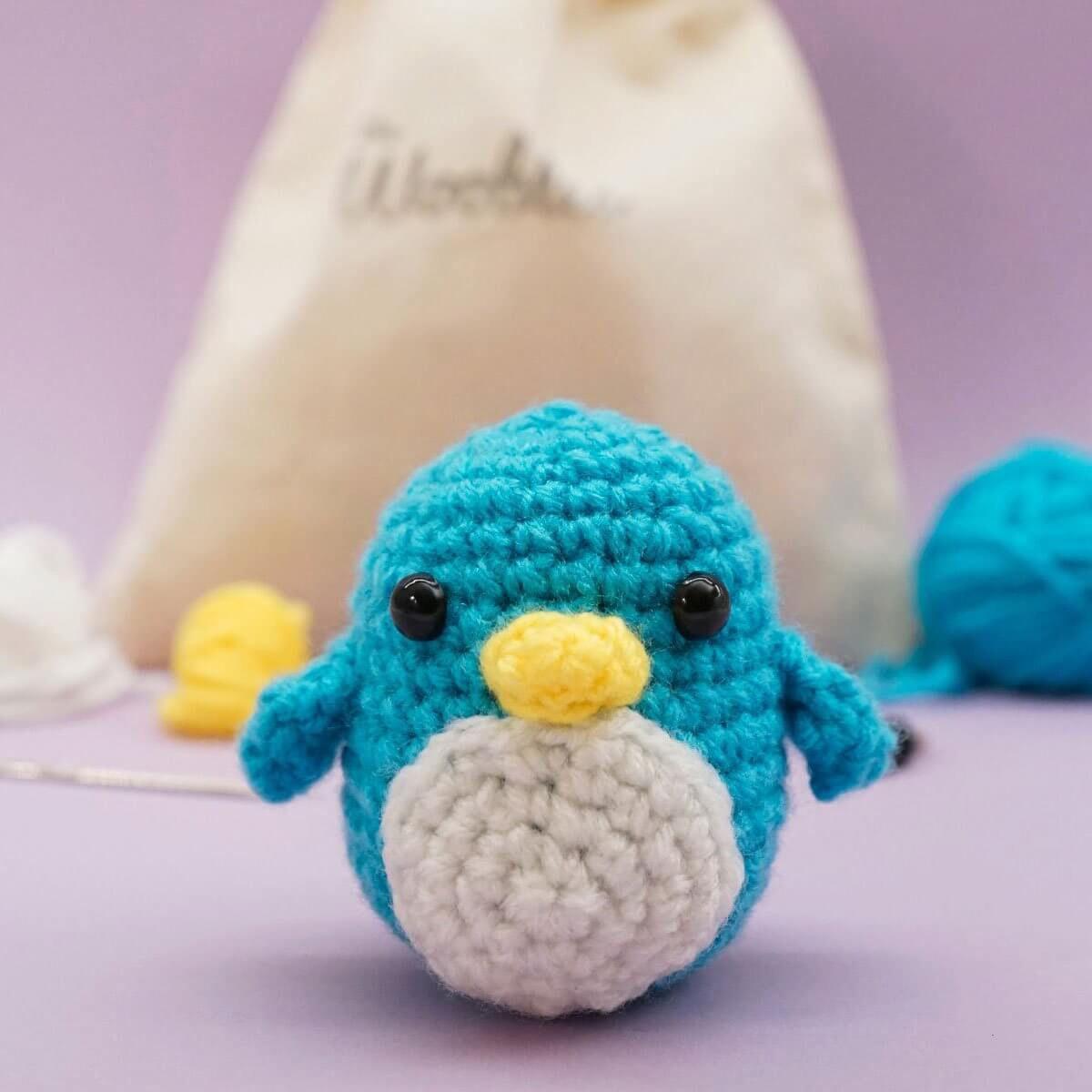 The Woobles Penguin Crochet Kit