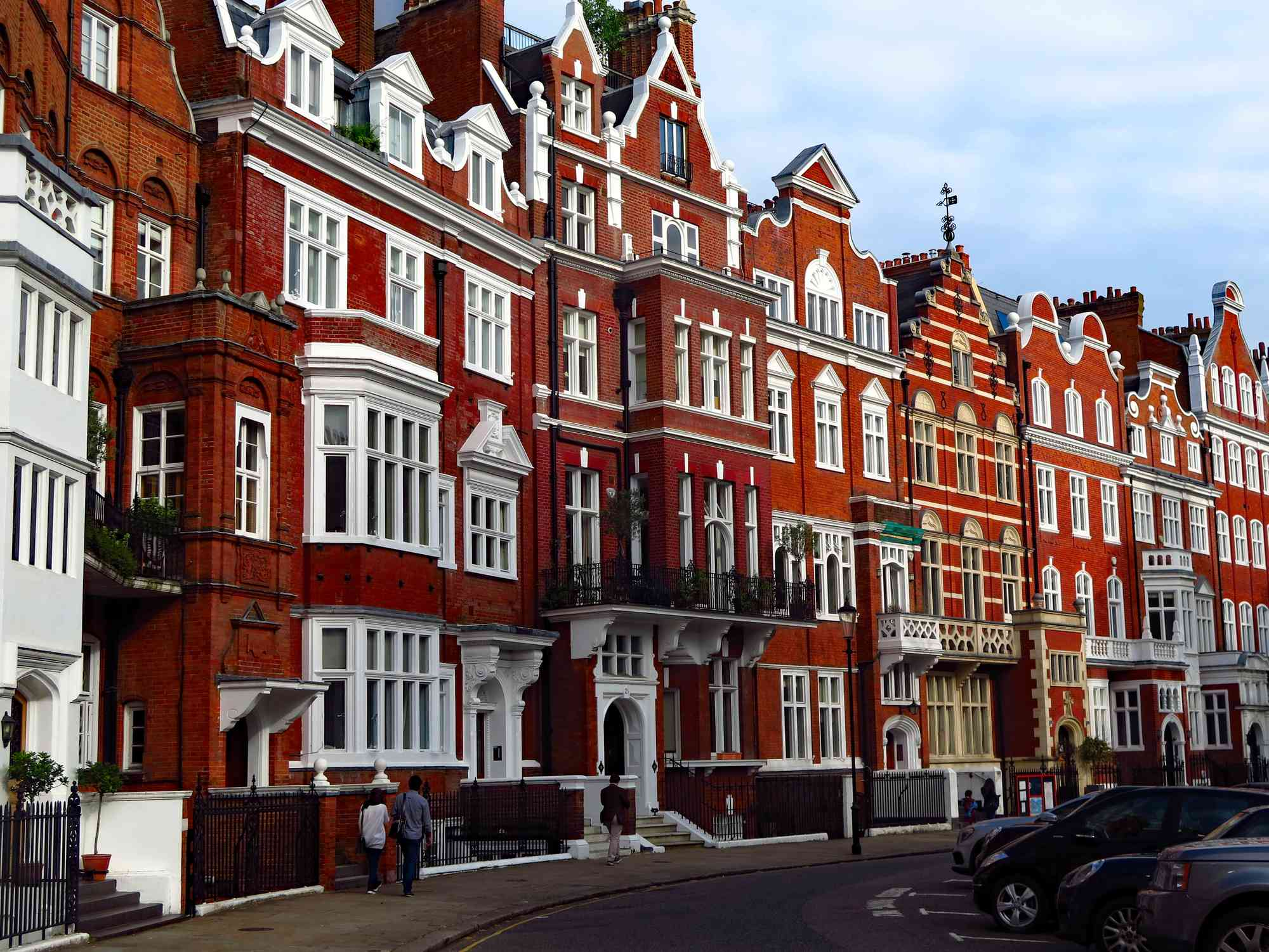 Victorians in Mayfair London.