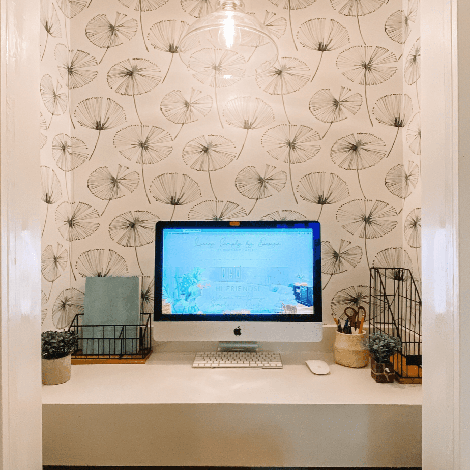 Brittany Cayless closet office