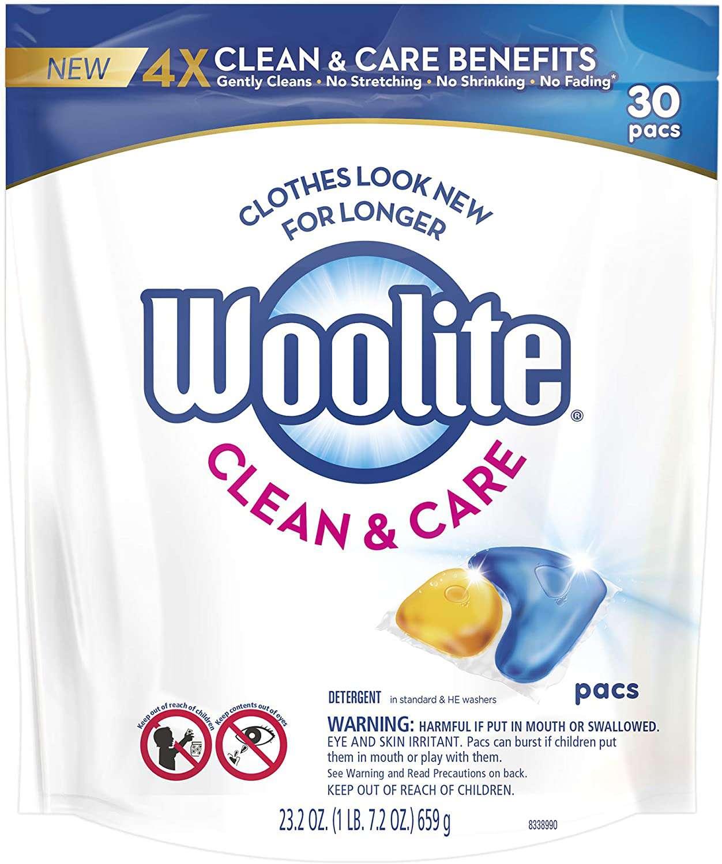 Clean & Care Laundry Detergent Pacs