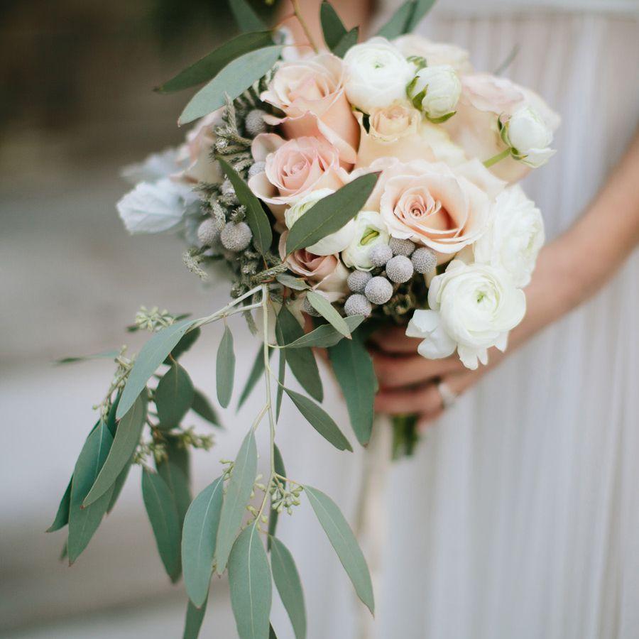Tulip Winter Wedding Bouquet