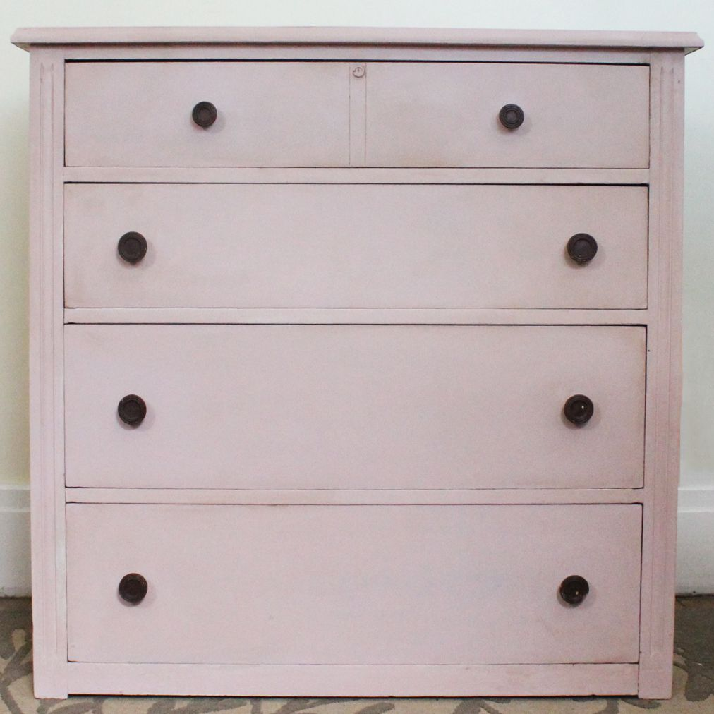 How To Paint A Dresser To Make It Look Like New Again