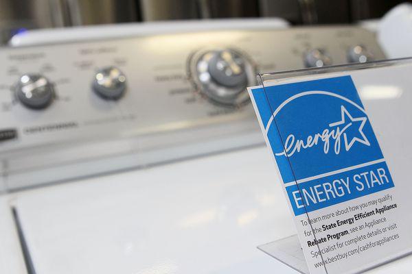 Energy Star info on washing machine