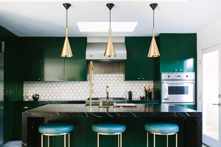 Green Kitchens Ideas For A Lively E