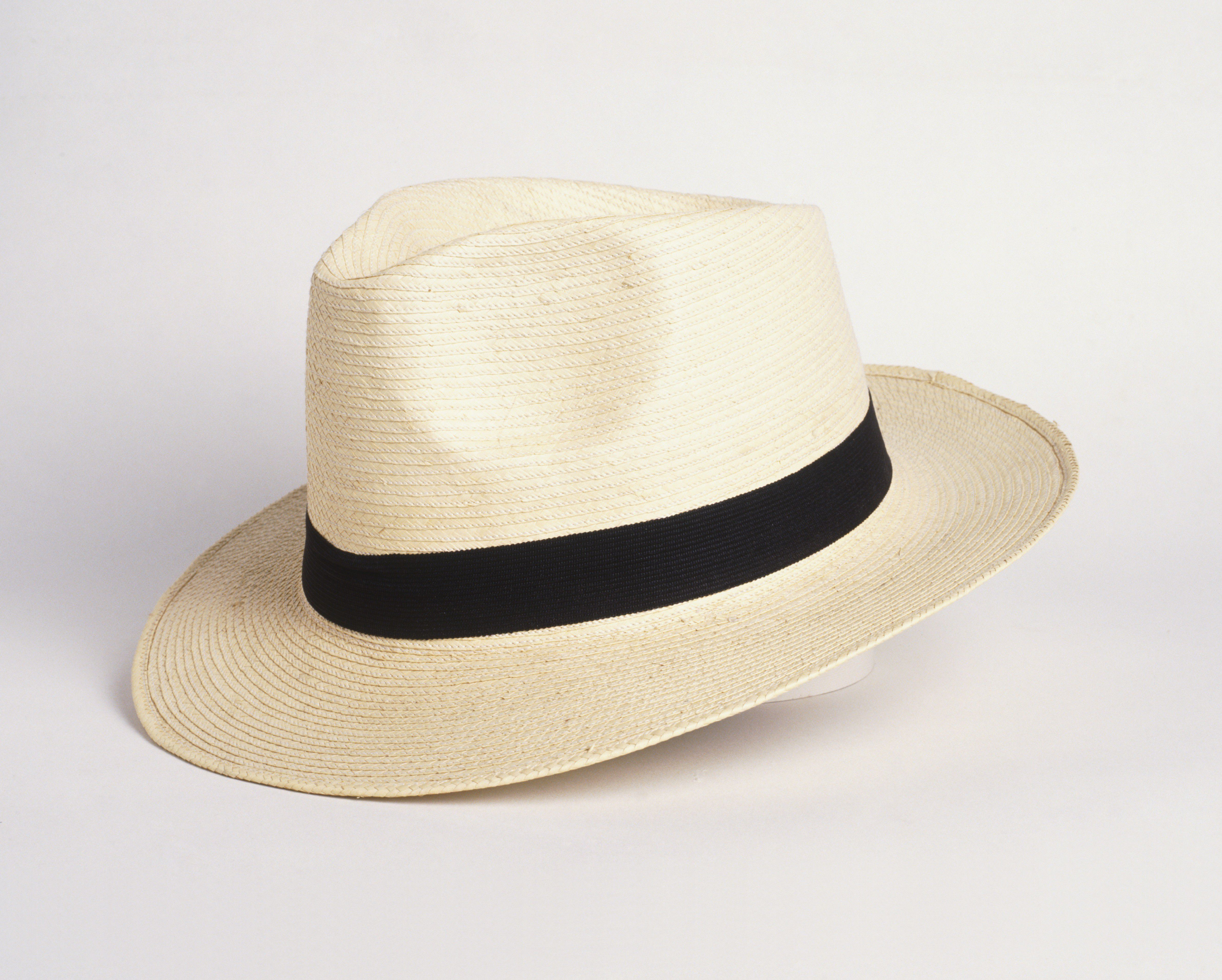 Panama hat, close up.