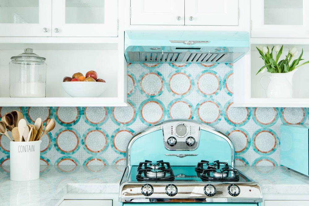 scandi inspired coastal kitchen