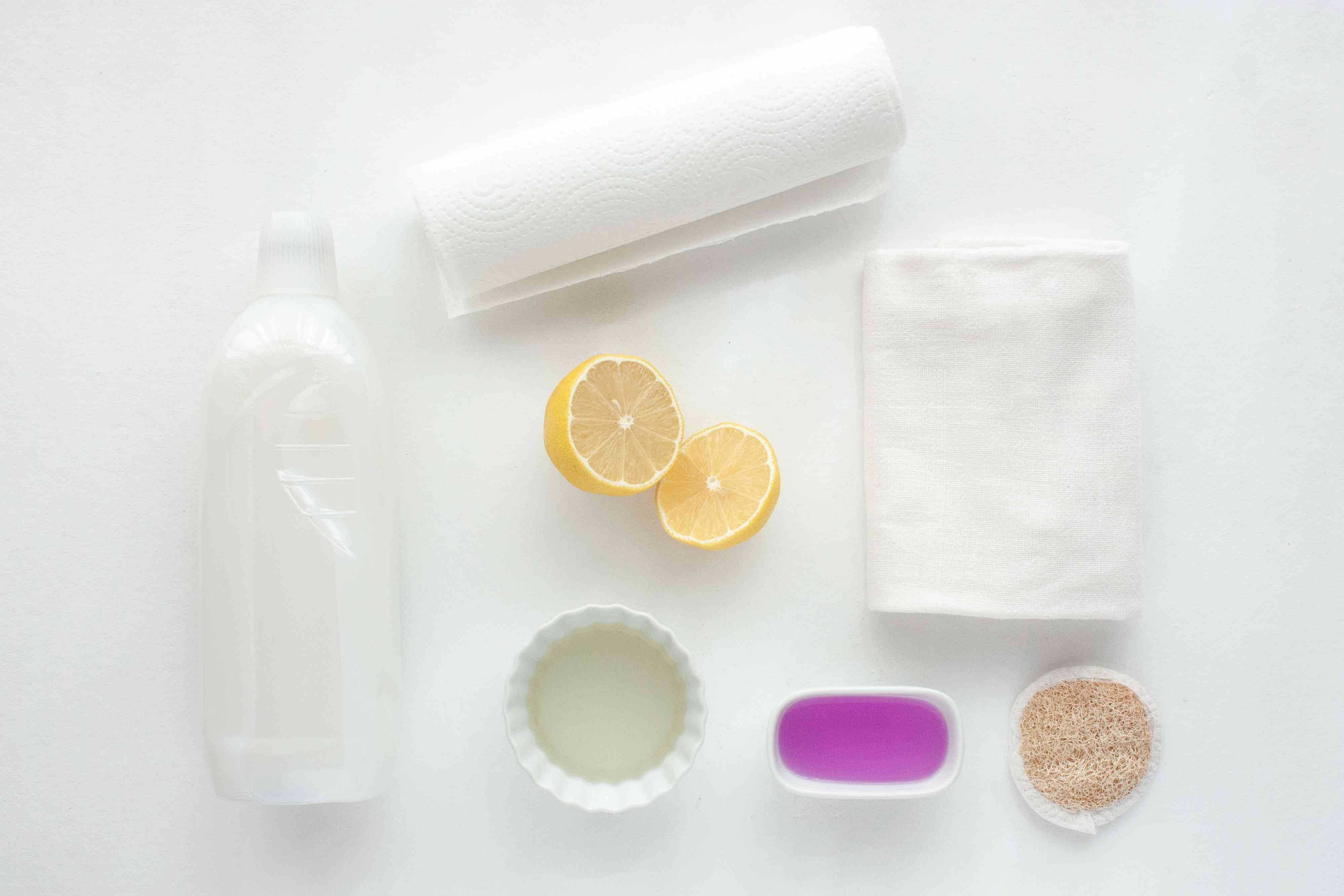 materials for getting rid of soy sauce stains