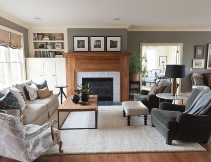 Green Living Room Ideas Houzz