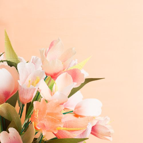 Paper Tulip Centerpiece