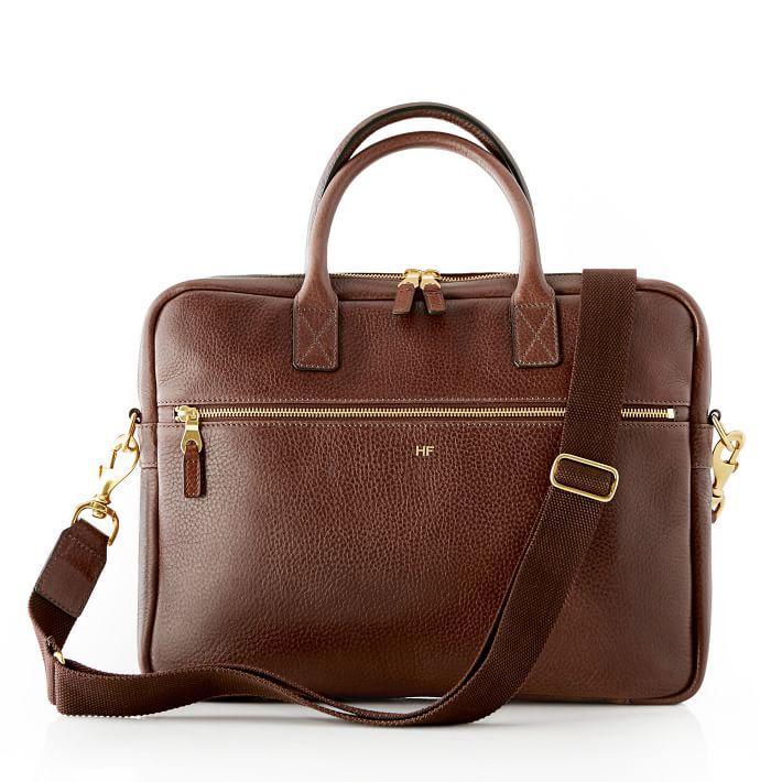 Mark & Graham Harvey leather briefcase