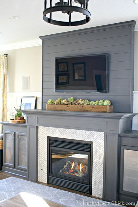 Use A Long And Low Arrangement Short On Mantel