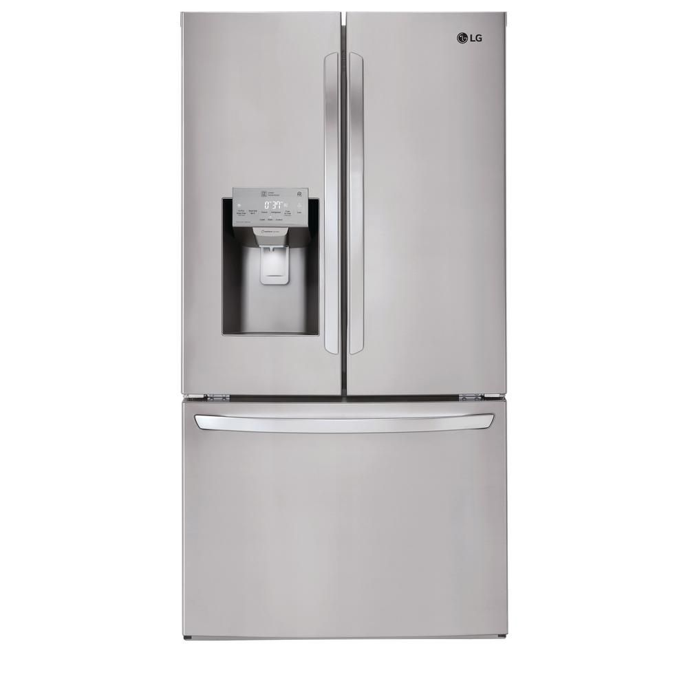 LG Electronics French Door Smart Refrigerator with Wi-Fi