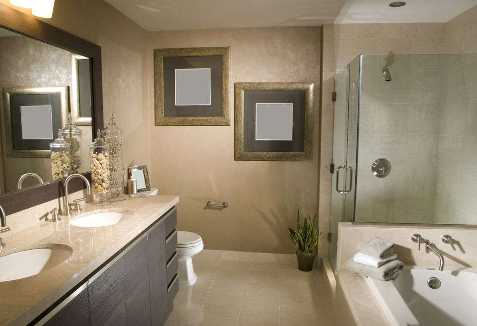 Secrets Of A Cheap Bathroom Remodel - How to completely remodel a bathroom