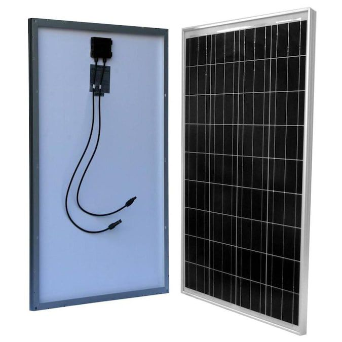 WindyNation 100W Polycrystalline Solar Panel