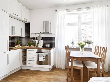 A Small Swedish Kitchen