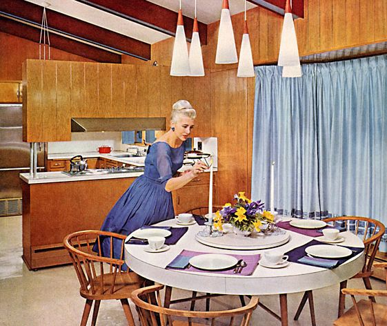 1960s Kitchens: From Jet-Age To Funkadelic