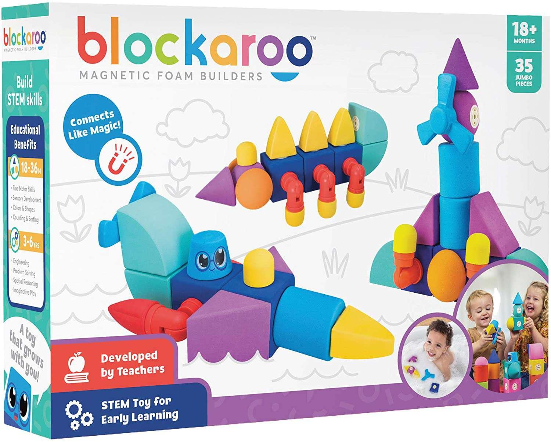 Blockaroo Magnetic Foam Builders