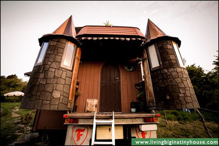 The Transforming Truck Castle Is a Tiny House on Wheels