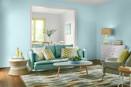Living Room In Behr 2017 Paint Colors