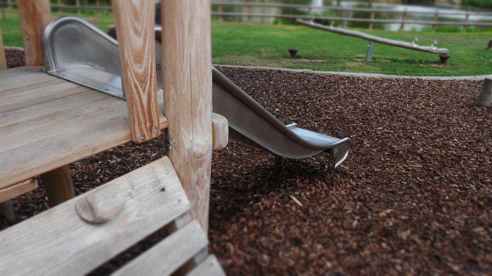 Slide at playground