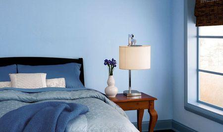 Missoula Blue Bedroom Paint